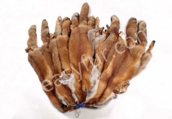 Norwegian Red Fox Pelts