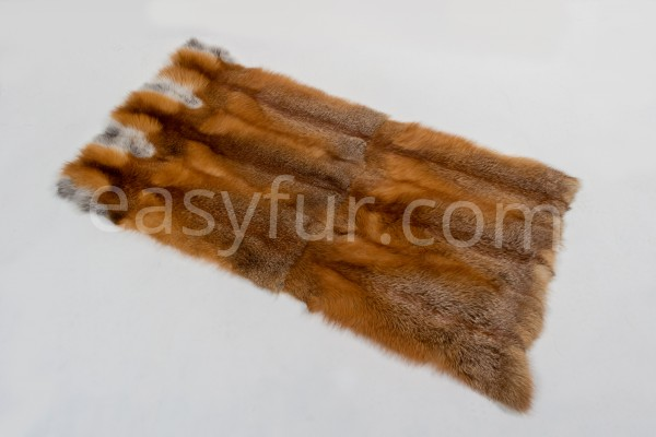 Canadian Red Fox Fur Plates without White Sides