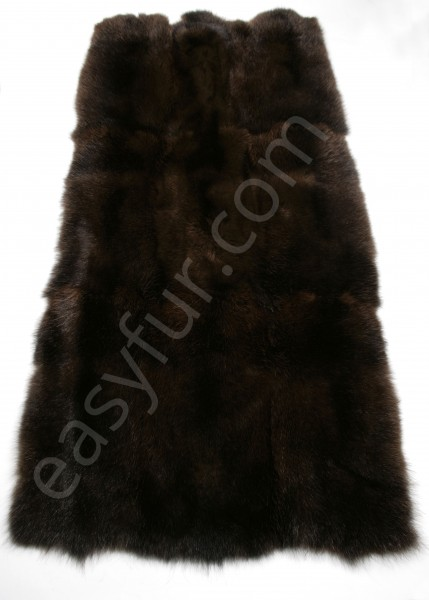 Opossum plate in dark brown (Fur Harvesters)