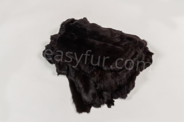 Rabbit Furs Dark Brown