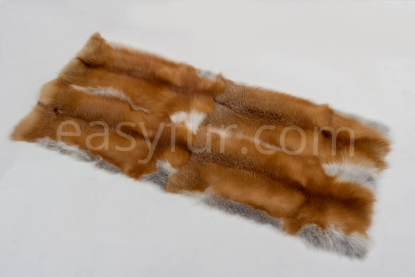 Canadian Red Fox Fur Plates