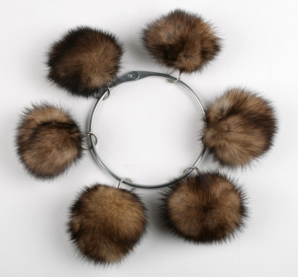 Fitch fur pom pom (Natural)