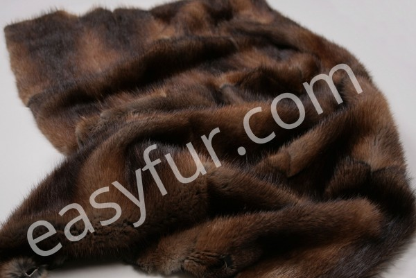Natural Musquash Fur Plate