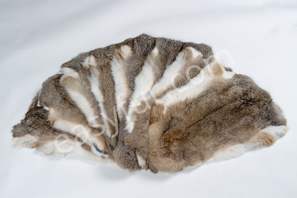 Natural Rabbit Skins
