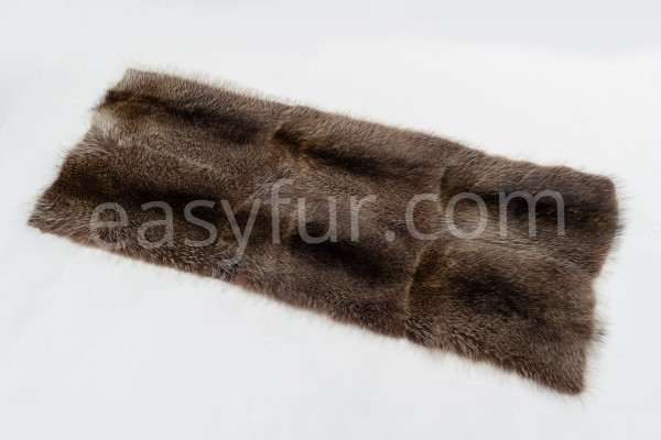 Natural Raccoon Fur Plates